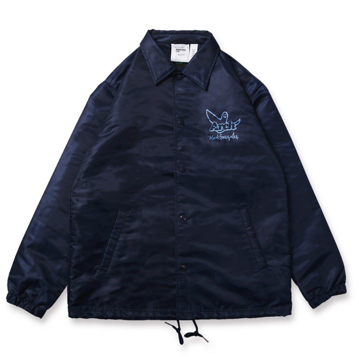 Mark Gonzales x Arch ball MG coach jacket【navy】