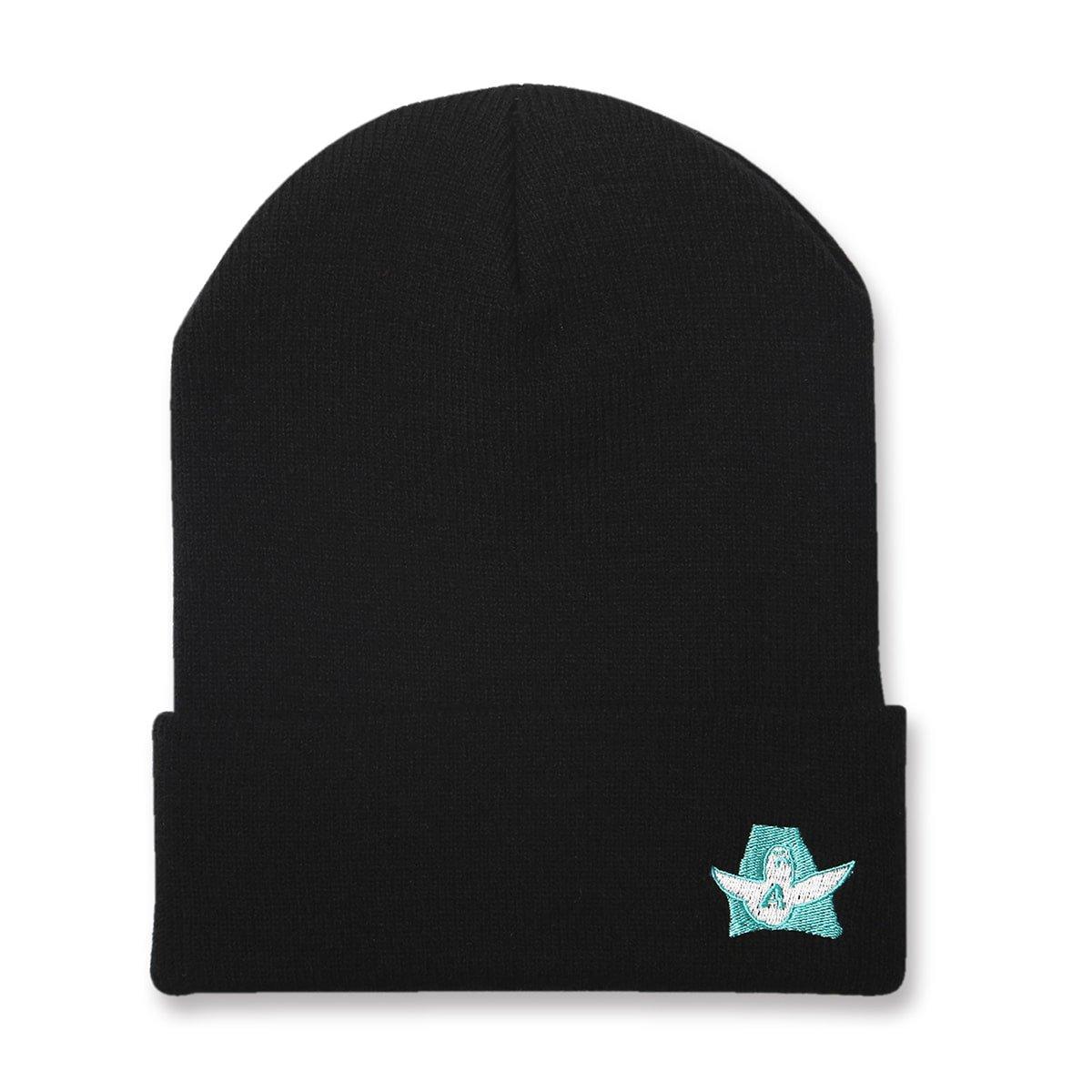 Mark Gonzales x Arch logo beanie【black】