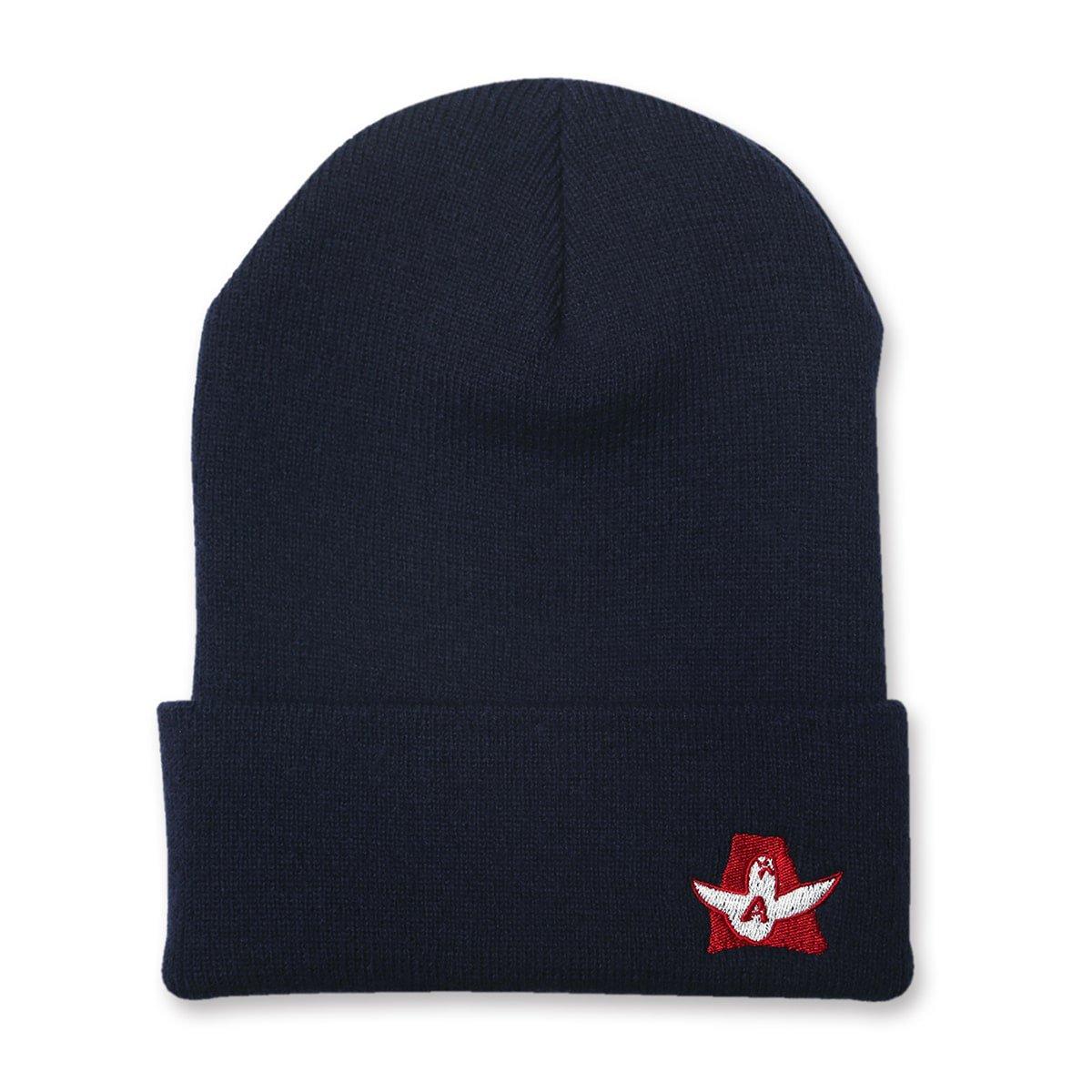 Mark Gonzales x Arch logo beanie【navy】