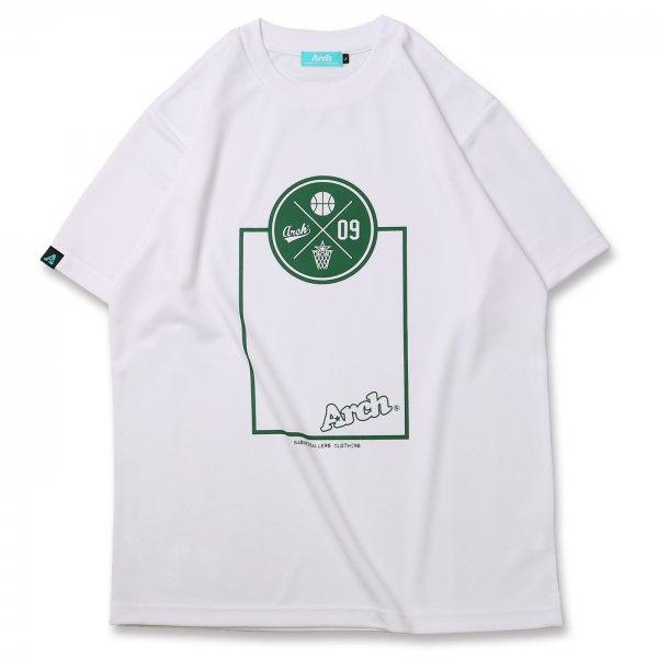 バスケ アーチ スローTシャツ ホワイト