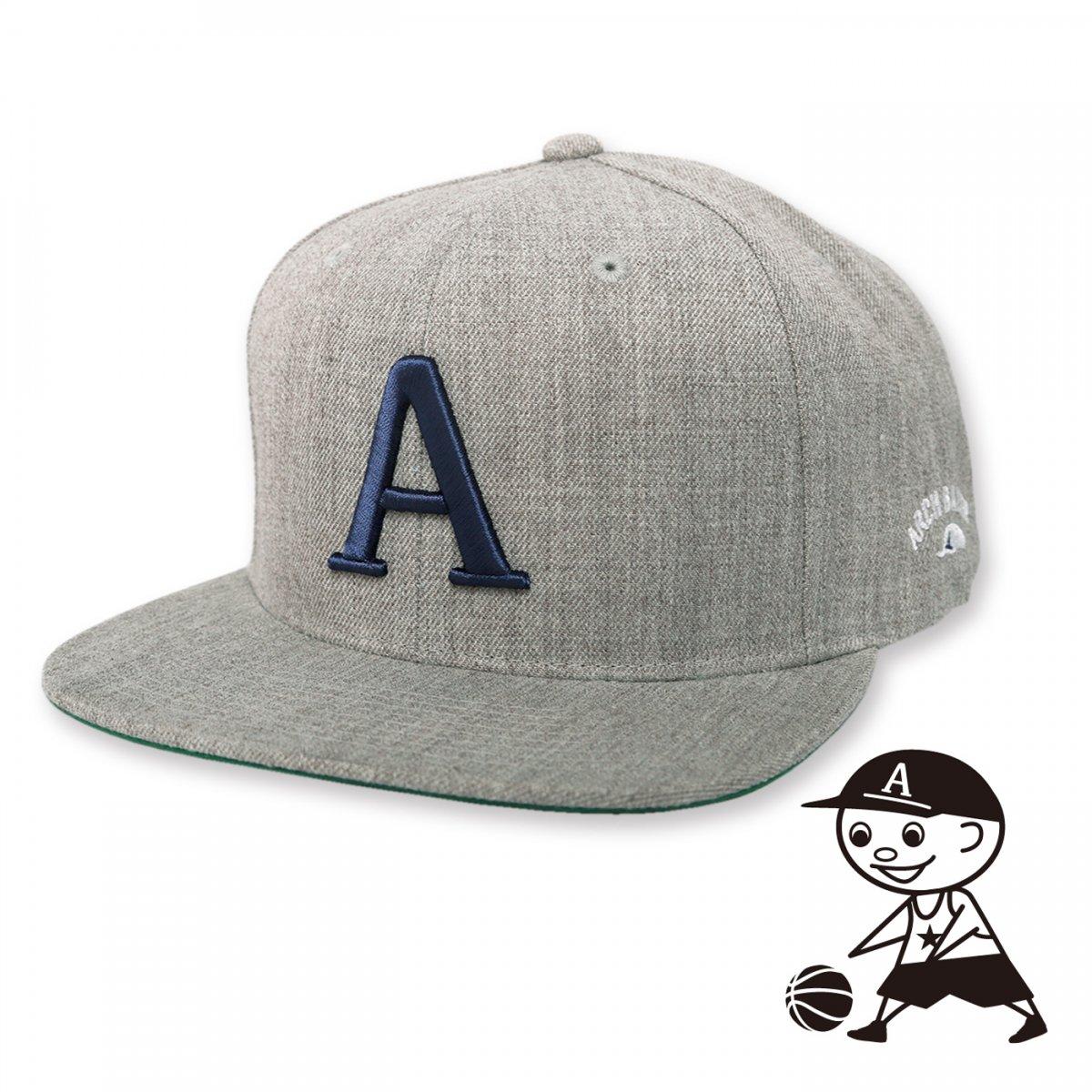 A CAP【heather gray】