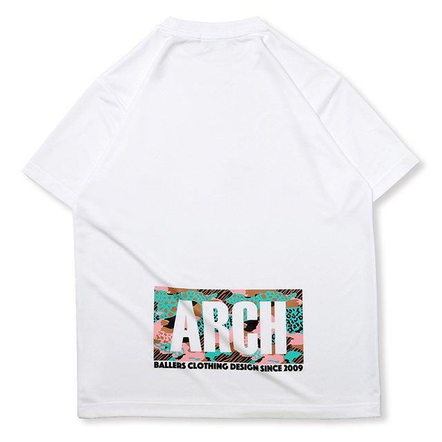 バスケ アーチLGZTシャツ ホワイト/ピンク