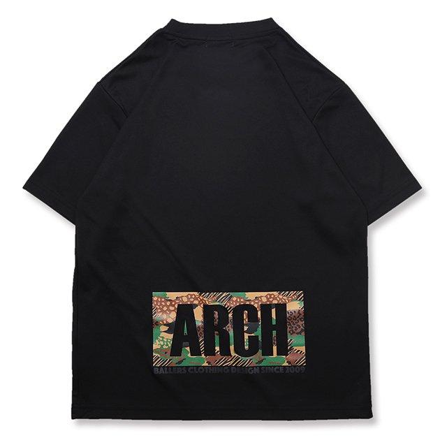 バスケ アーチ LGZTシャツ ブラック/ブラウン