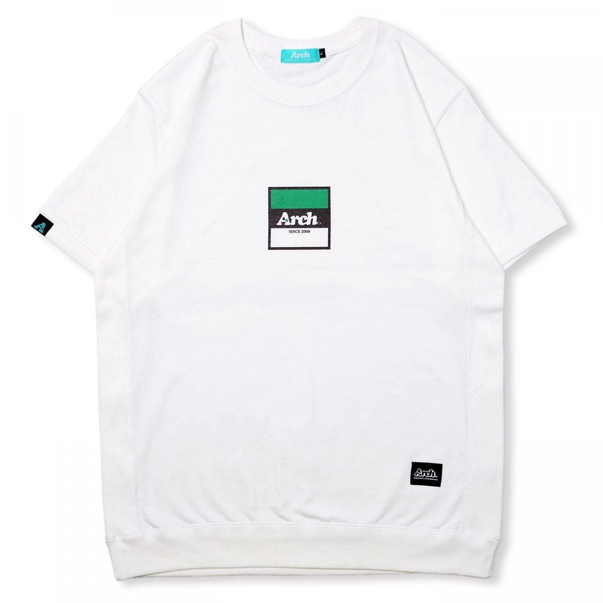 trico logo S/S crew【white】