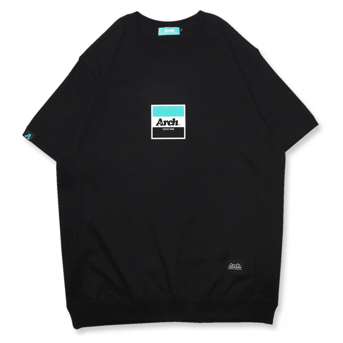 trico logo S/S crew【black】
