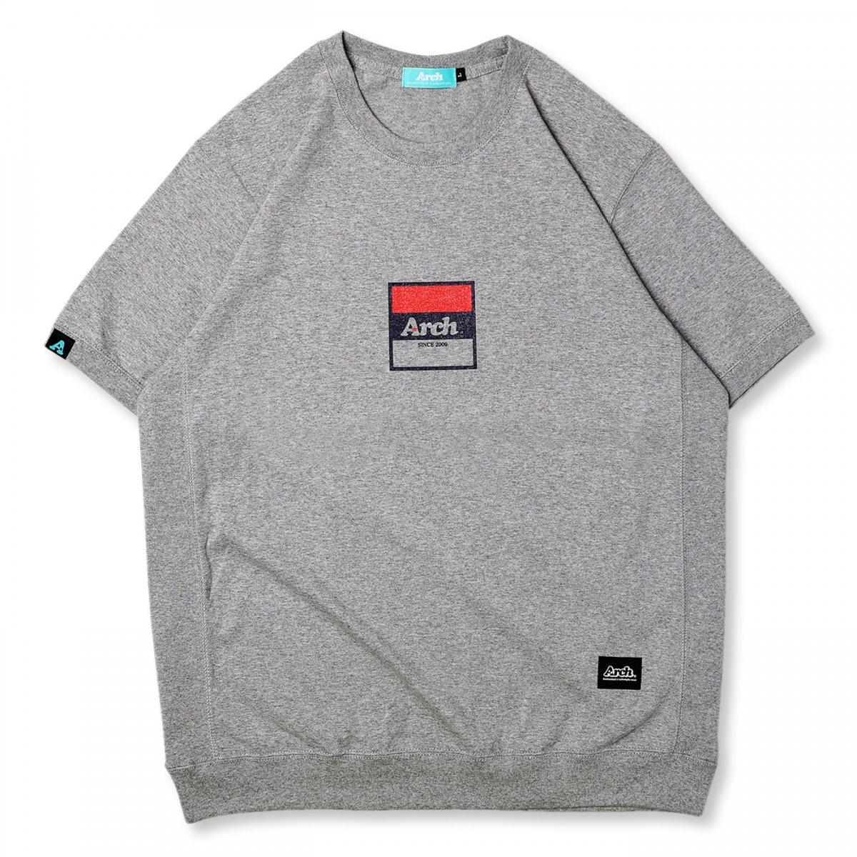 trico logo S/S crew【heather gray】