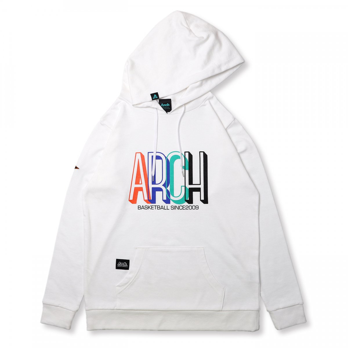 quartet pull over parka【white】