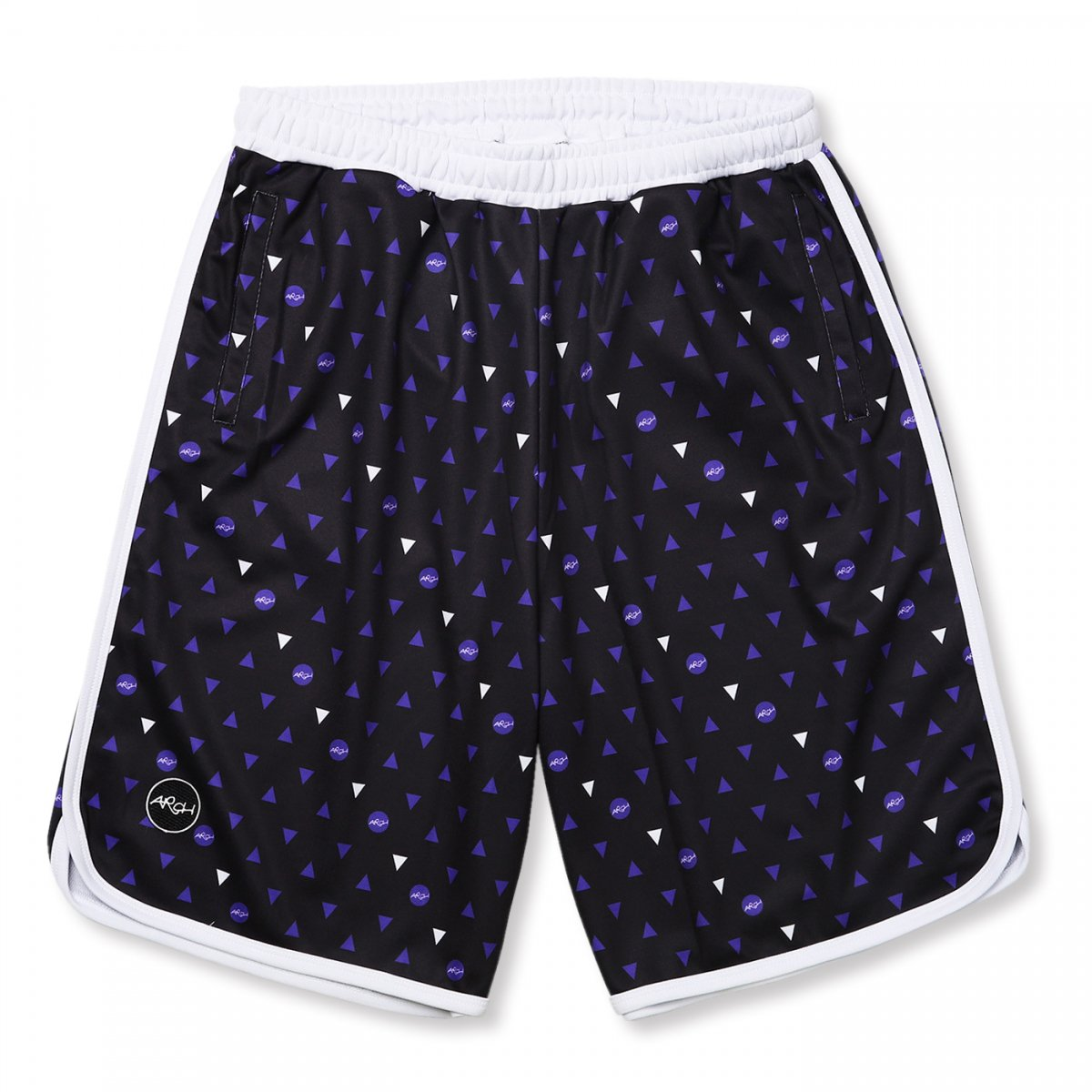 candy drop shorts【black/purple】