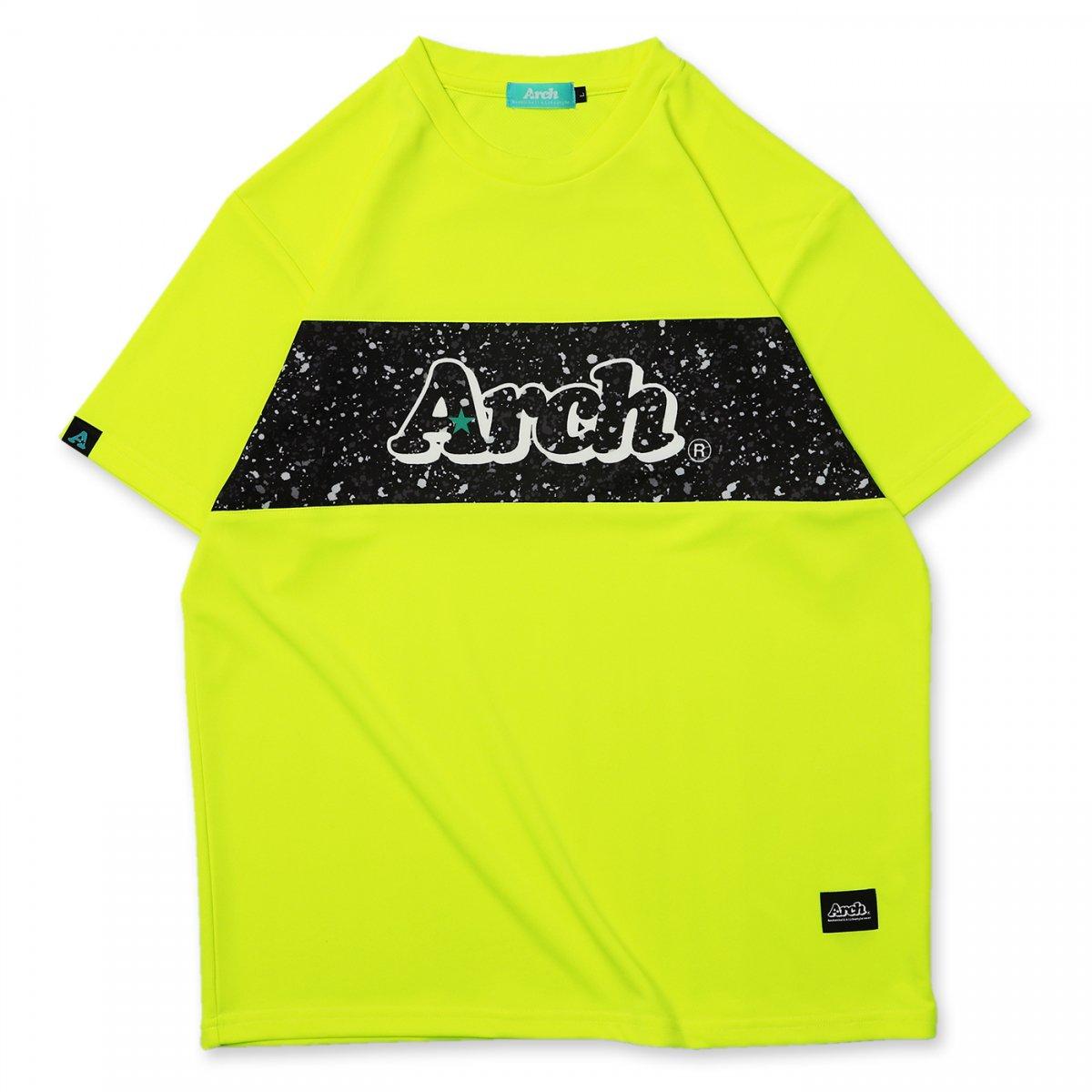 paint splatter tee [DRY]【neon yellow】