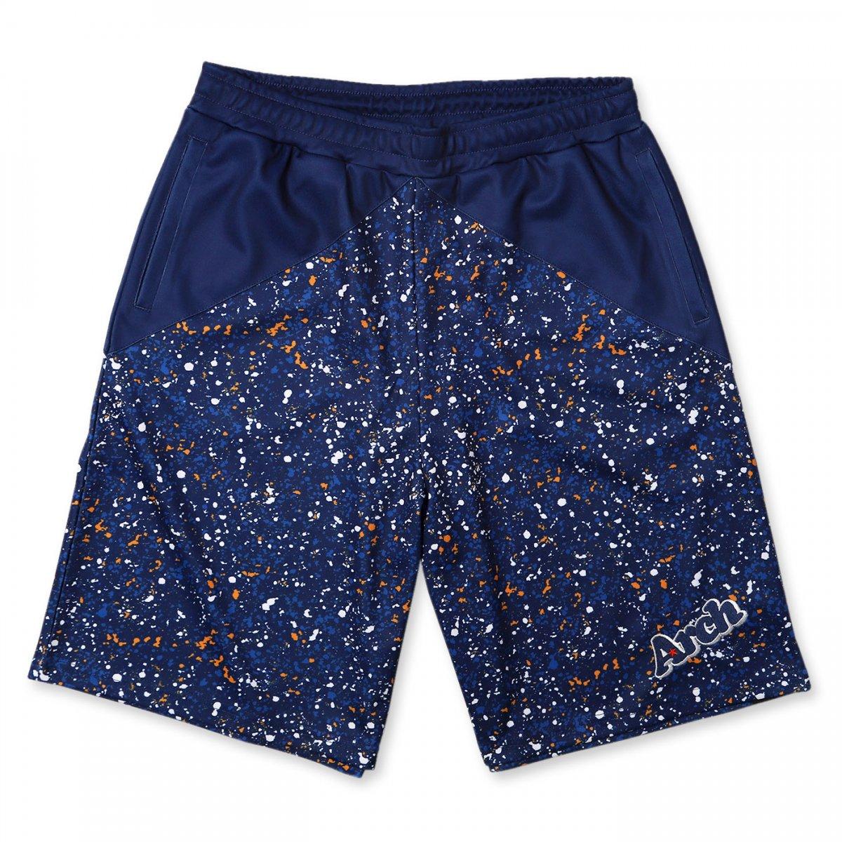 paint splatter shorts【blue】