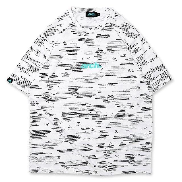 バスケ アーチ  コズミックTシャツ ホワイト