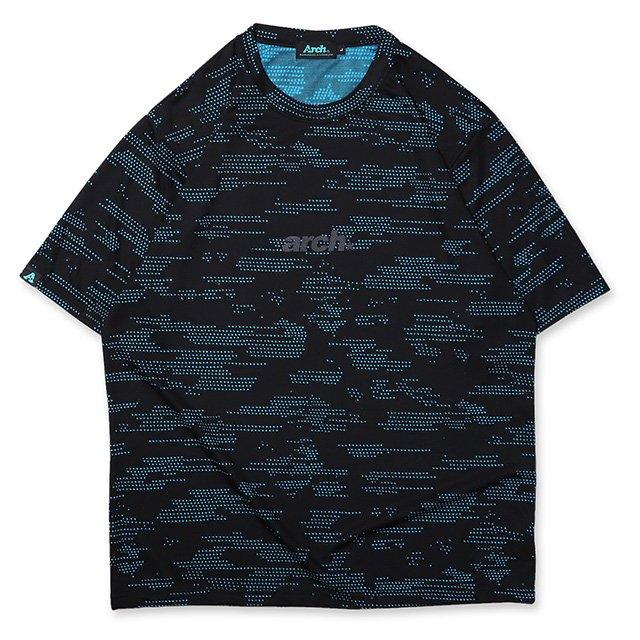 バスケ アーチ  コズミックTシャツ ブラック/ブルー