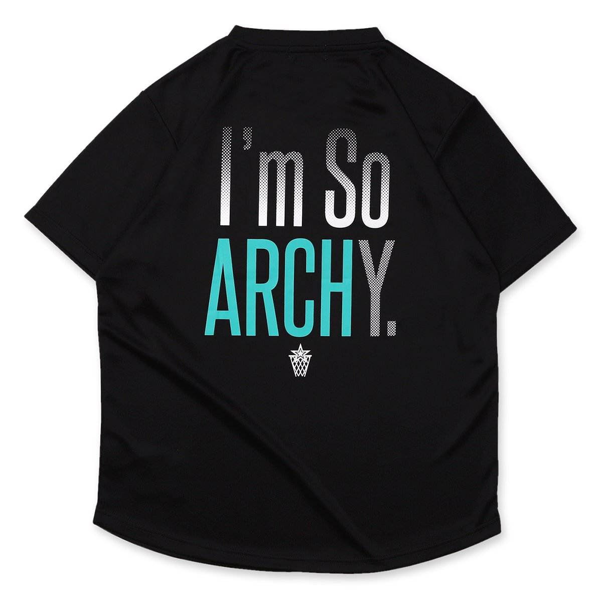 Im so ARCHY tee [DRY]【black】