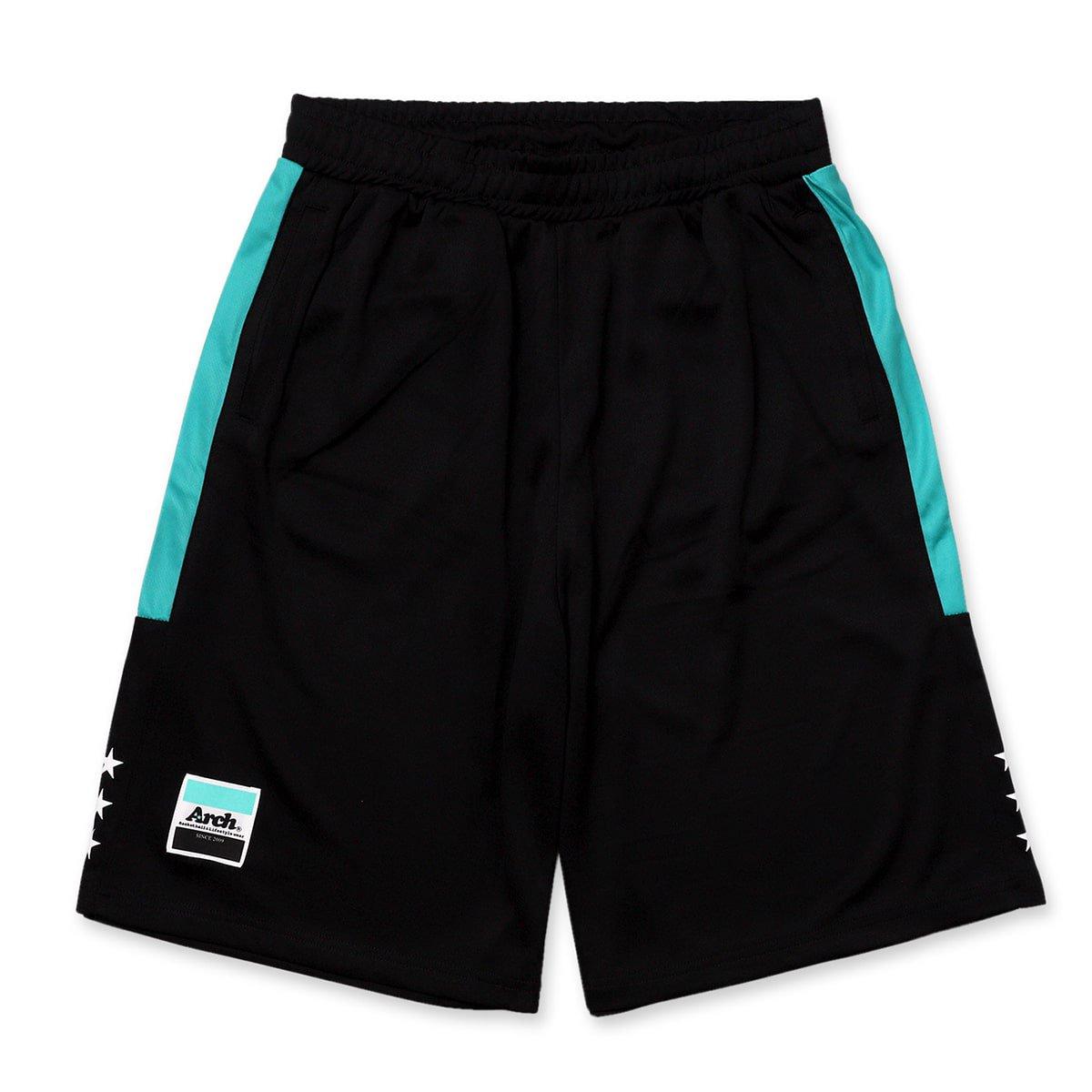 バスケ アーチサイドバーショーツ ブラック/ミント