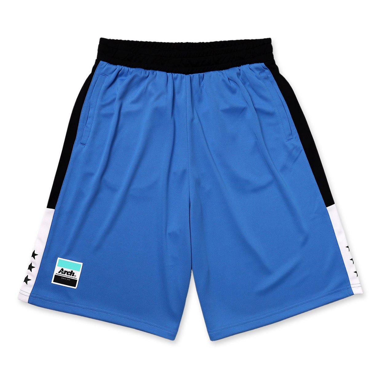 バスケ アーチ サイドバーショーツ ブルー