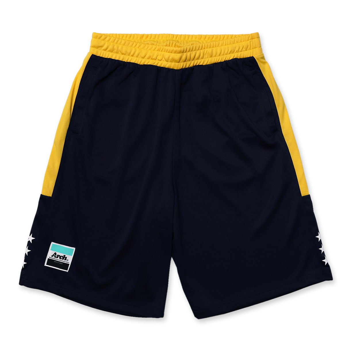 side bar shorts【navy】