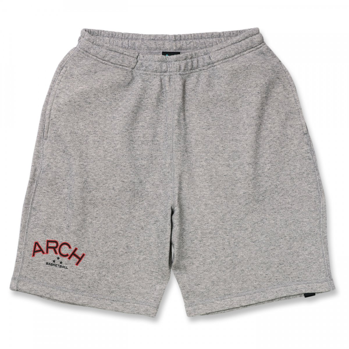 three star sweat shorts【heather gray】