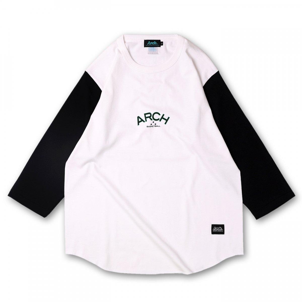 バスケ アーチ  スリースターH/S ホワイト/ブラック
