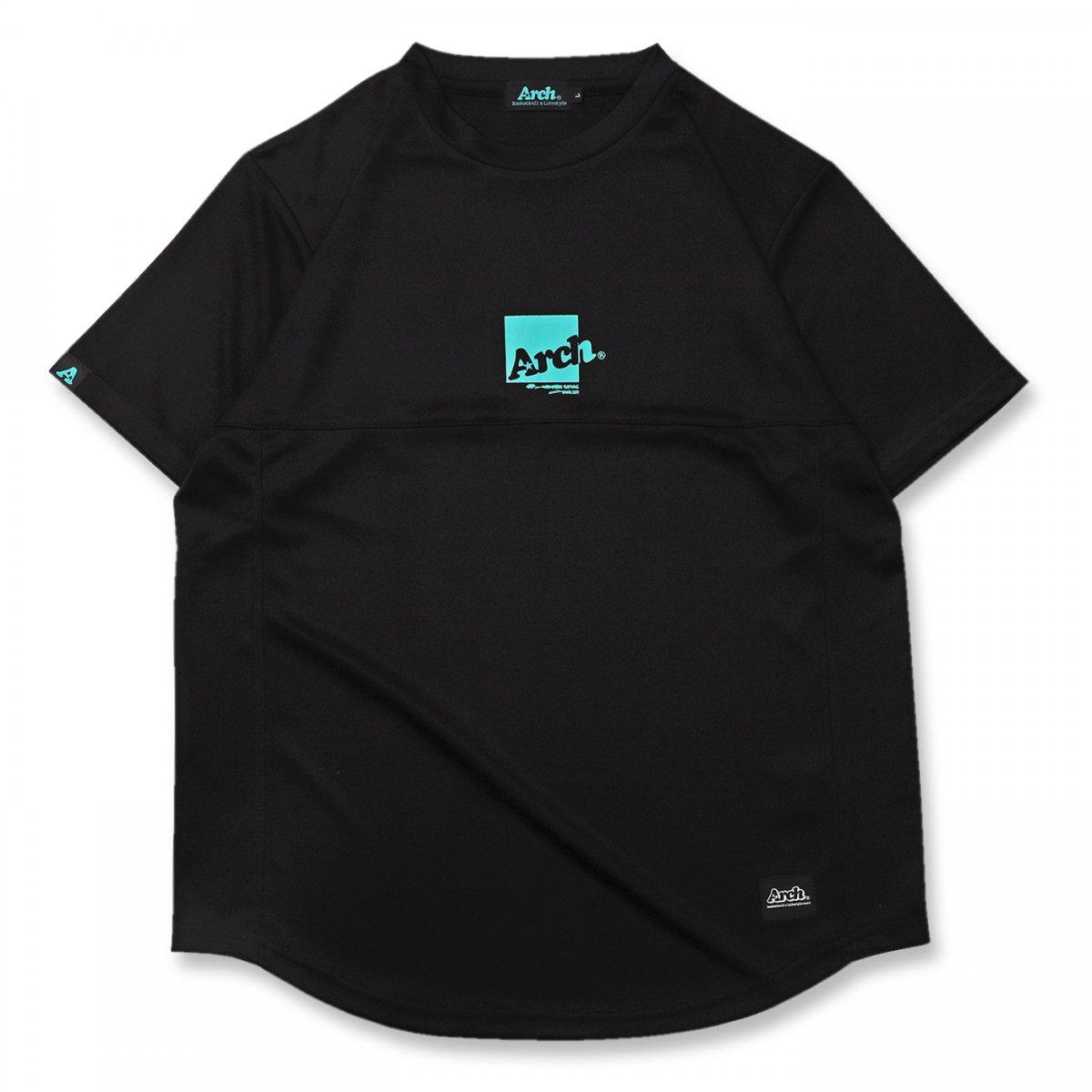 box logo switching tee [DRY]【black】