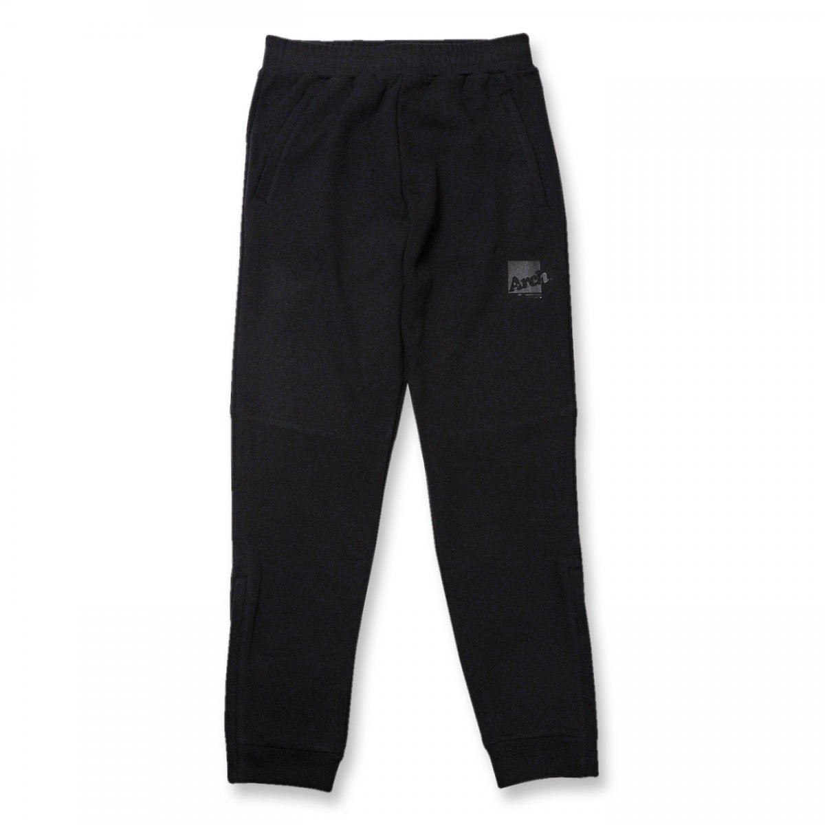 box logo sweat pants【black】