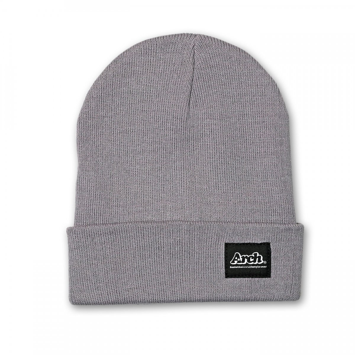 basic label beanie【gray】