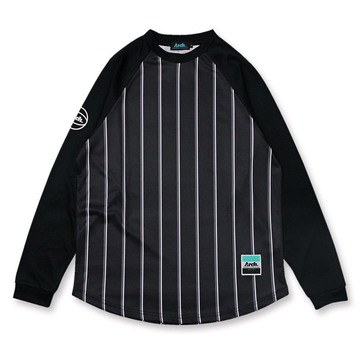 バスケ アーチアーチ トラッド L/S Tシャツ ブラック