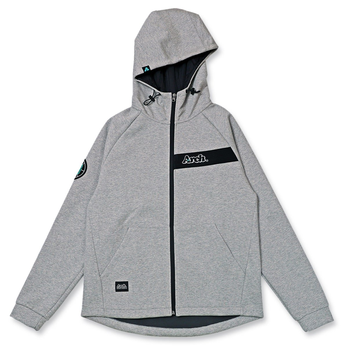 bonding sweat parka【gray】