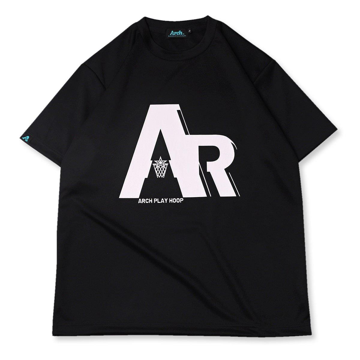 AR rim tee [DRY]【black】