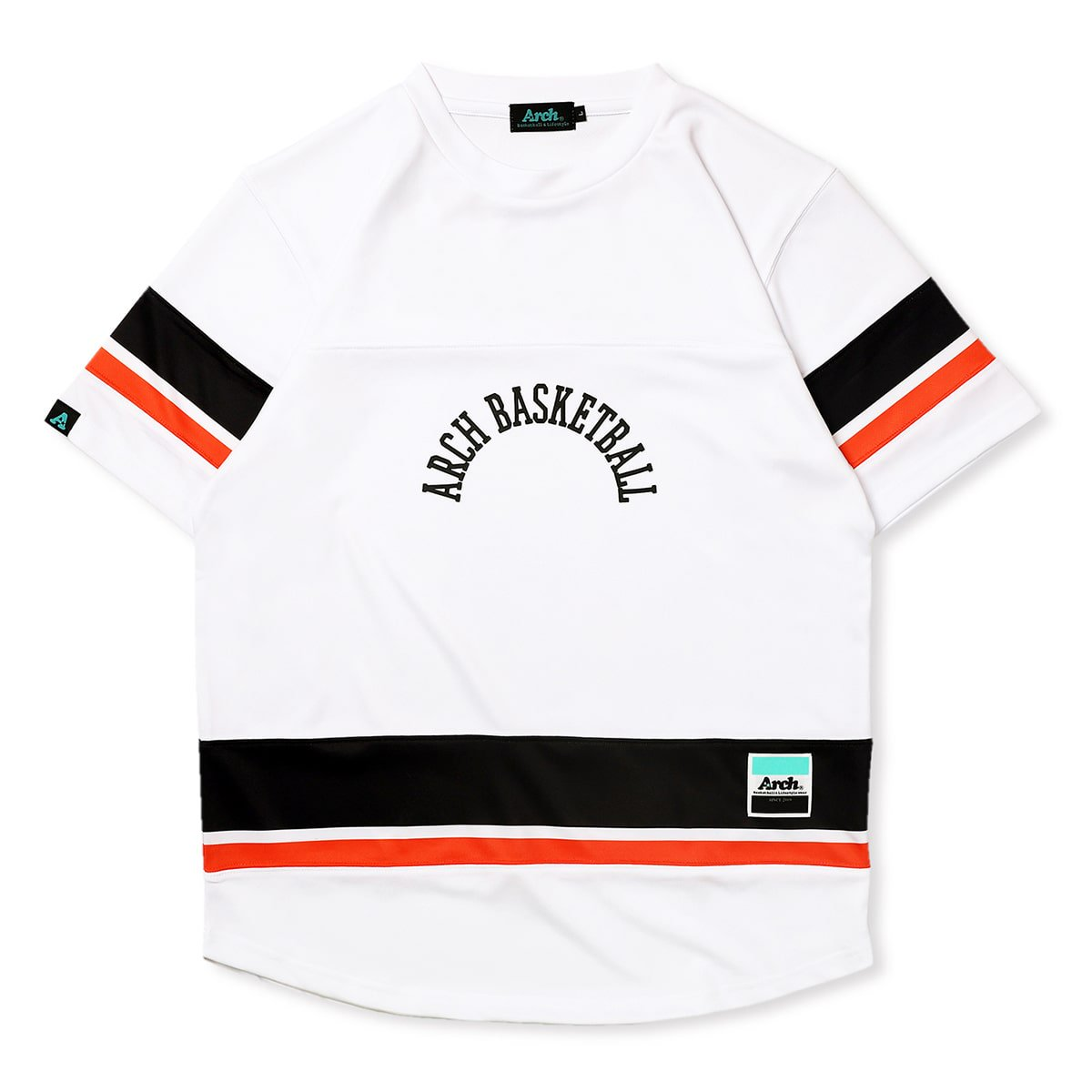 hockey designed tee [DRY]【white】