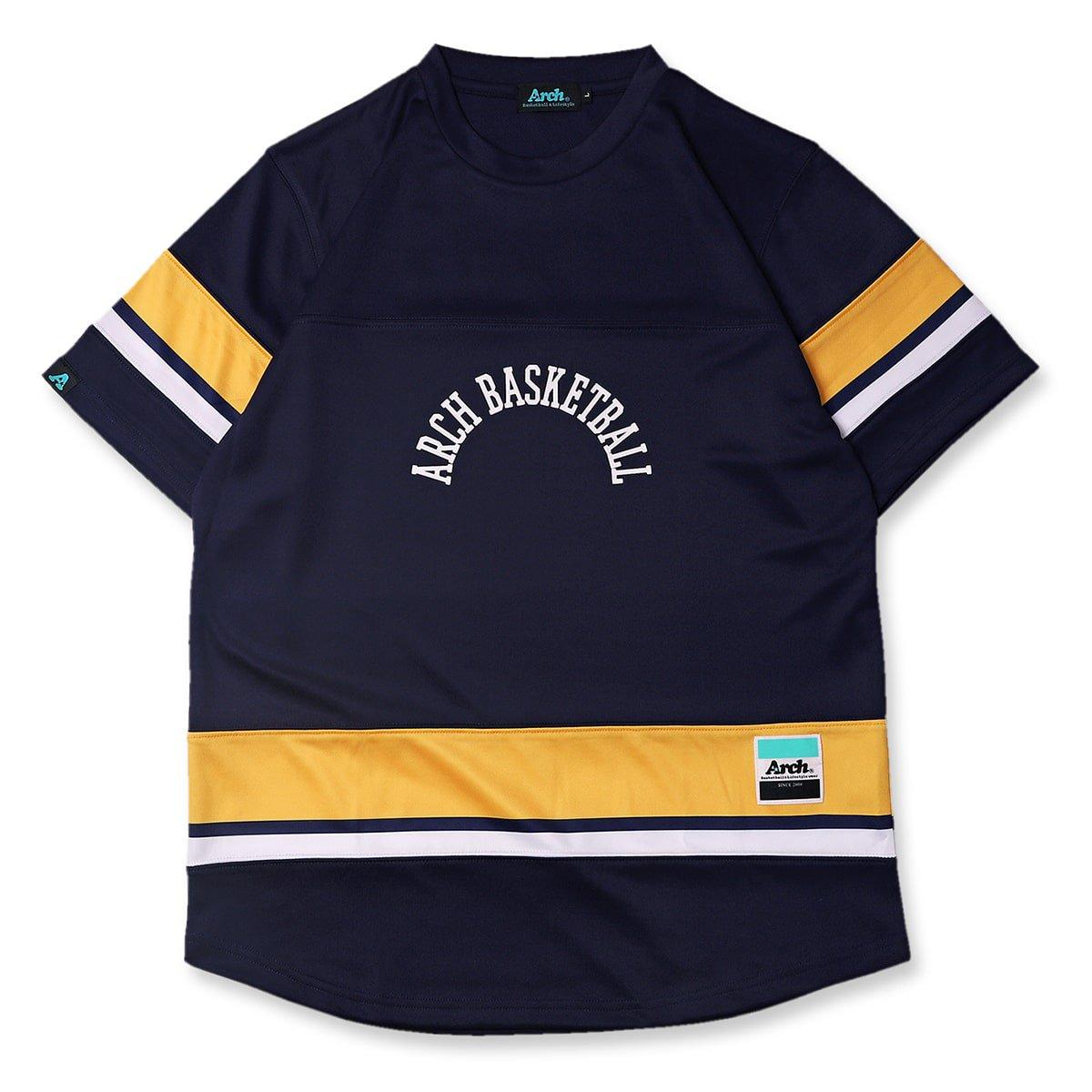 hockey designed tee [DRY]【navy】