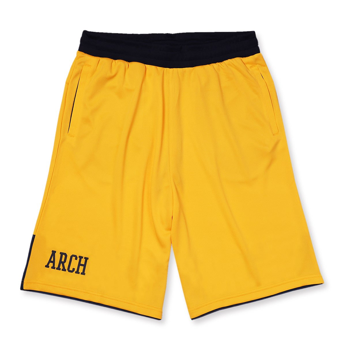 bi-color shorts【yellow/navy】