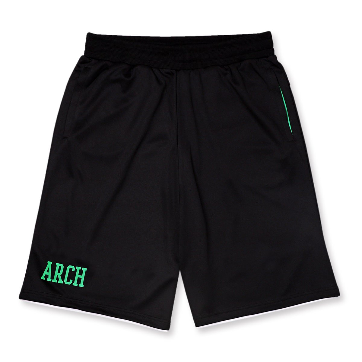 bi-color shorts【black/white】