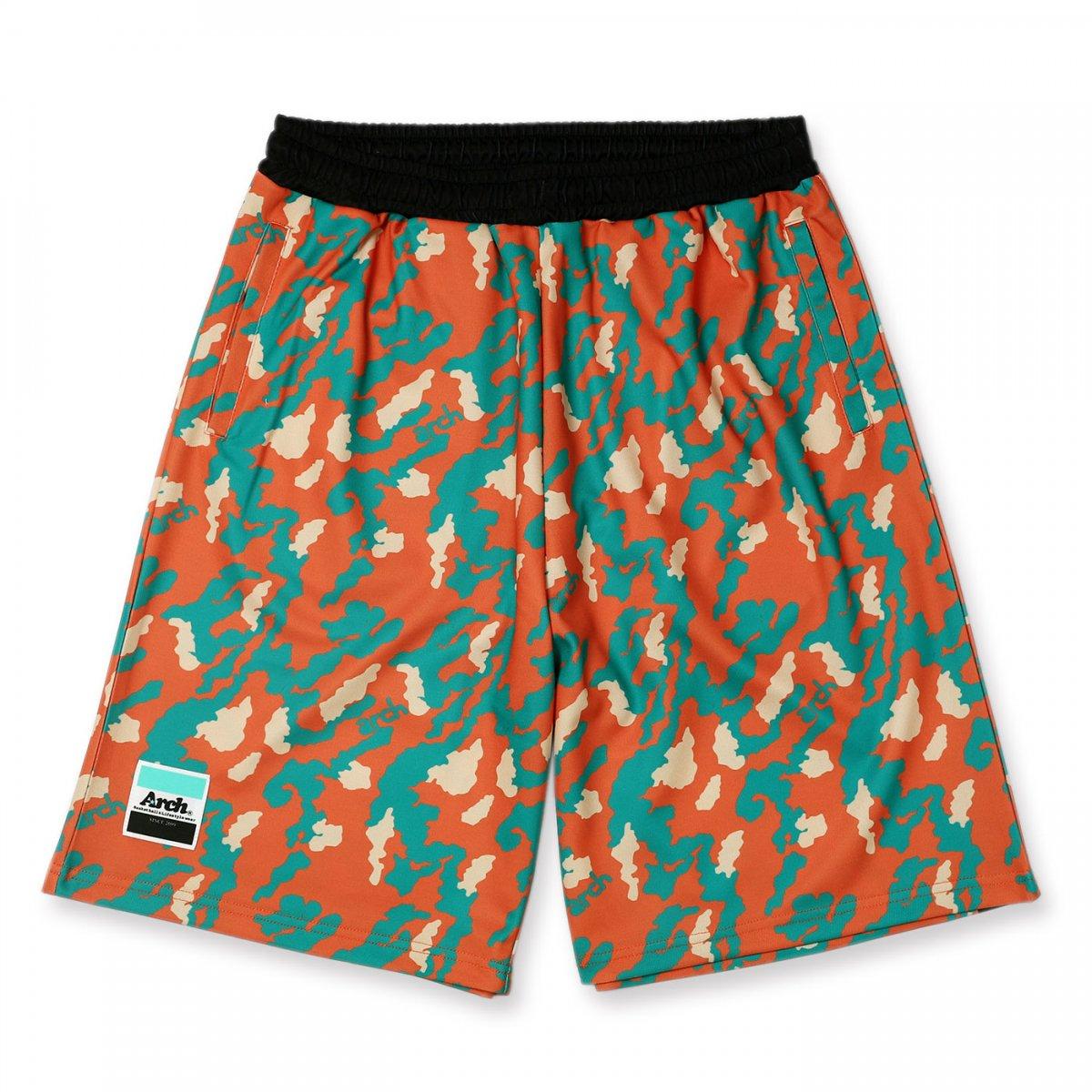 flex camo shorts【coral】