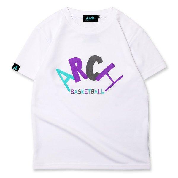 バスケ アーチ RL ロゴ Tシャツ キッズ ホワイト