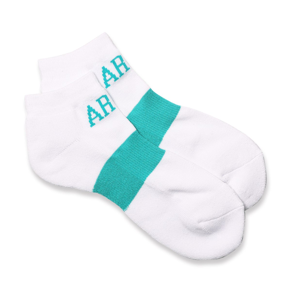 ankle socks【white/mint】
