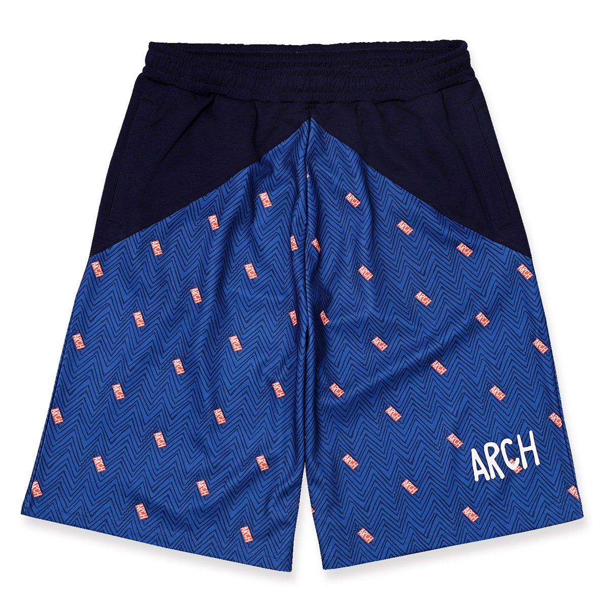 jaggy shorts【navy】