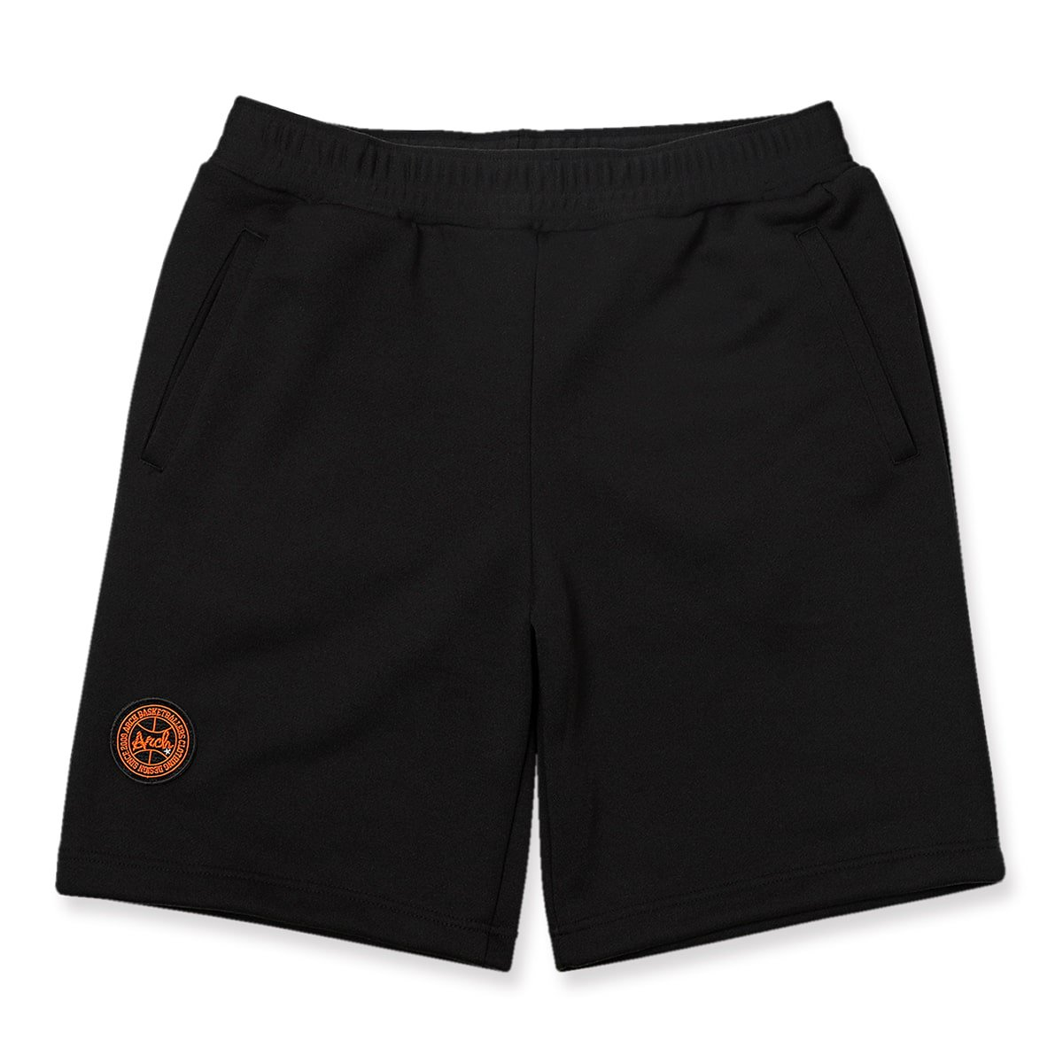 basic sweat shorts【black】