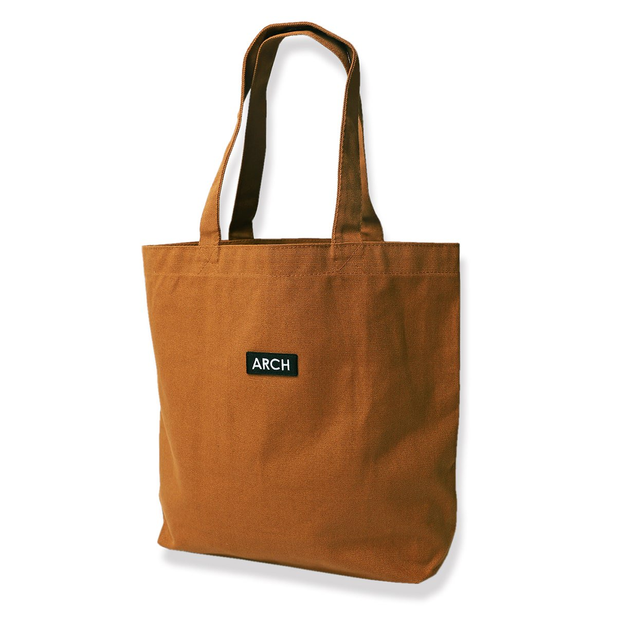 patch tote bag[medium]【camel】