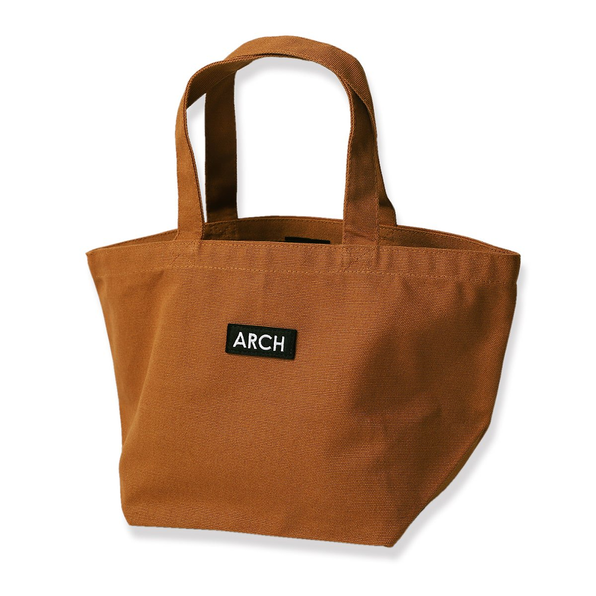 patch tote bag[small]【camel】