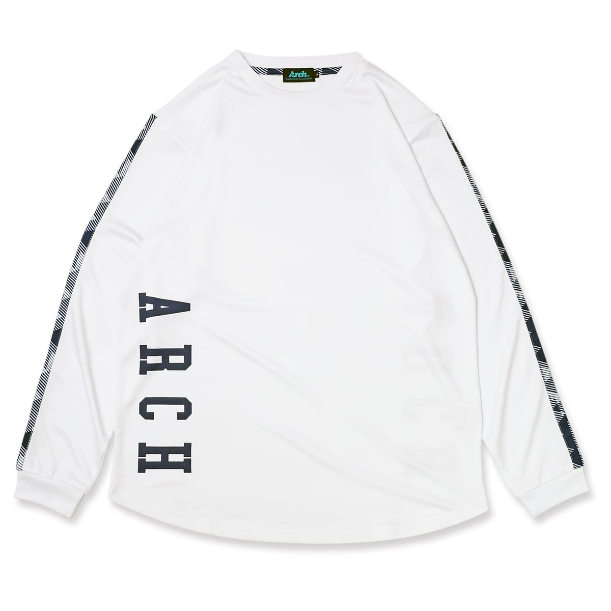 triangle native L/S tee [DRY]【white】