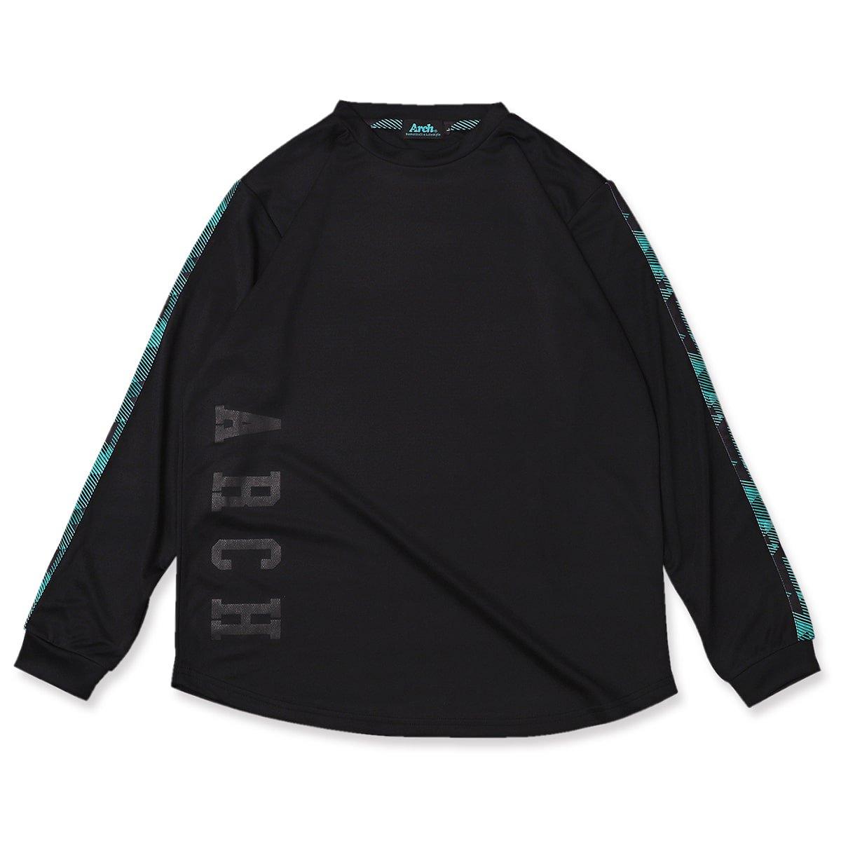 triangle native L/S tee [DRY]【black】
