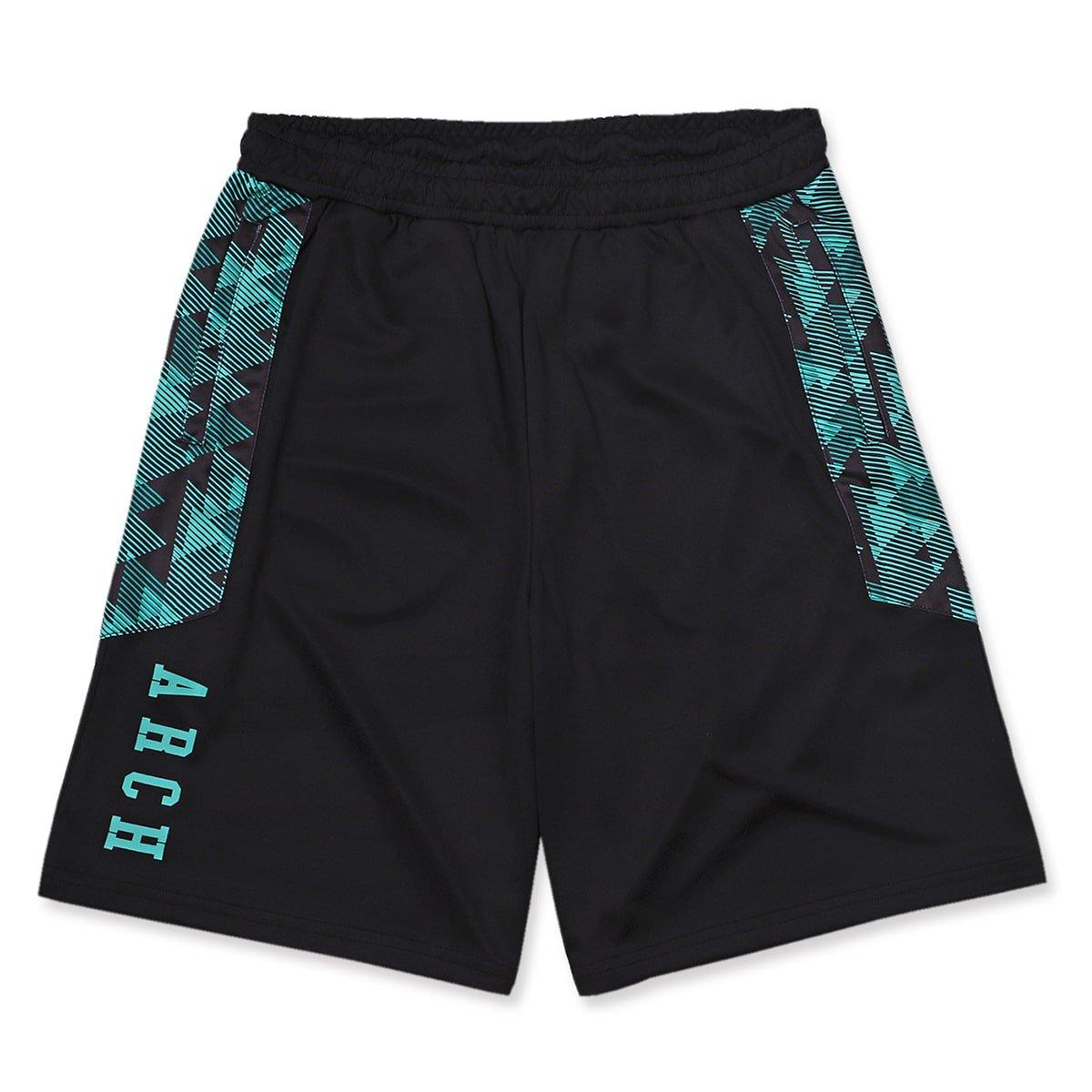 triangle native shorts【black】