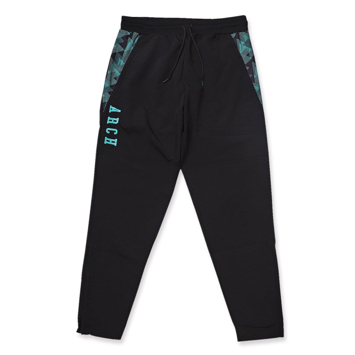 triangle native warmup pants【black】
