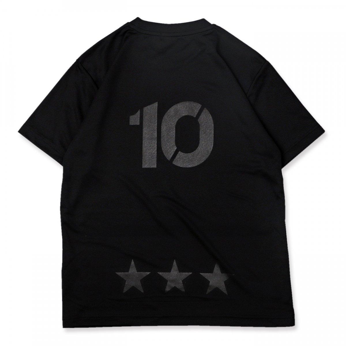 BB10 tee [DRY]【black】