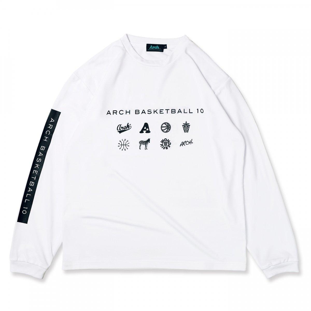 BB10 L/S tee [DRY]【white】