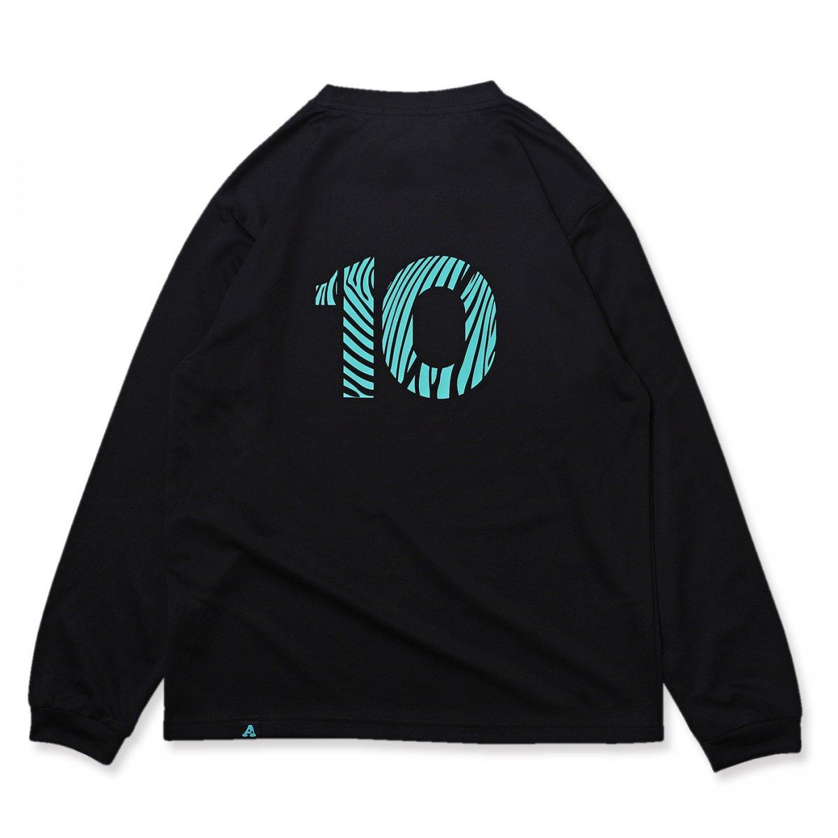 BB10 L/S tee [DRY]【black】