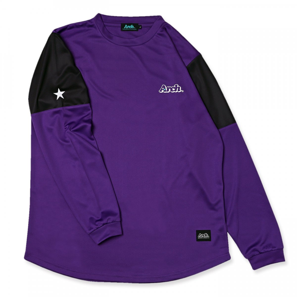 slv switching L/S tee [DRY]【purple】