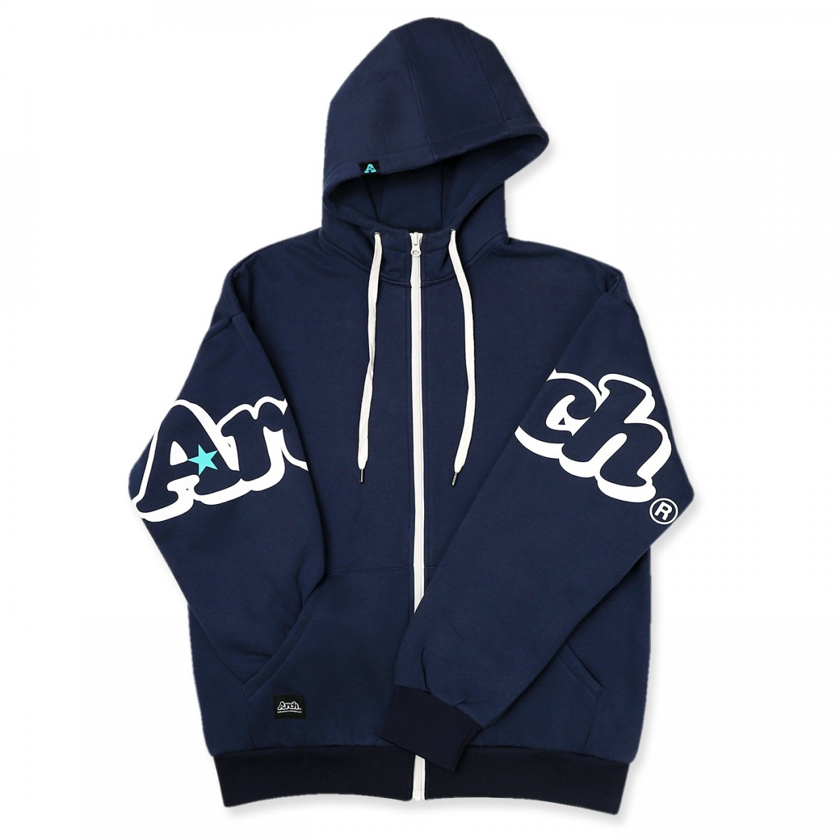 double logo parka【navy】