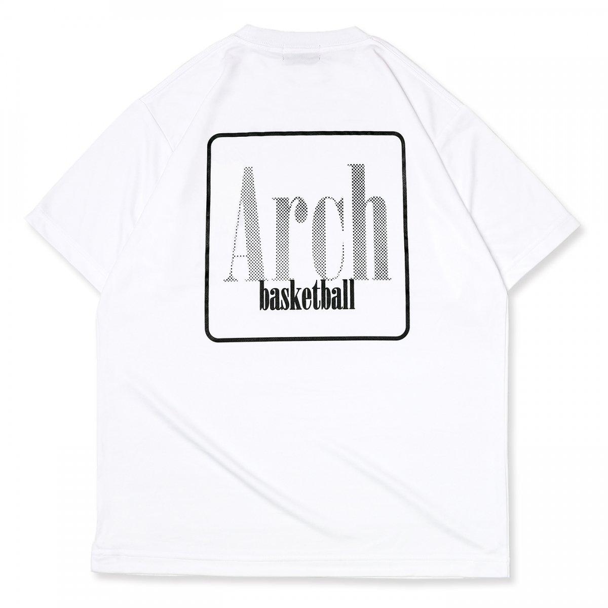 スクエア ロゴ Tシャツ ホワイト