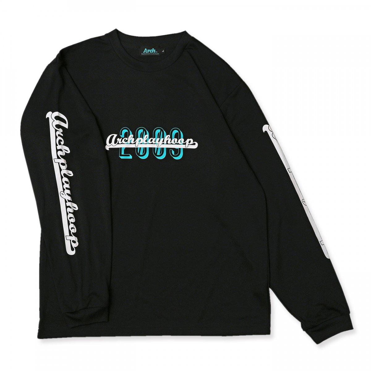 プレイフープ L/S Tシャツ  ブラック